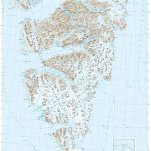 Svalbard sørvest (S250)-Blad 1