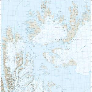 Svalbard nord (S250)-Blad 3