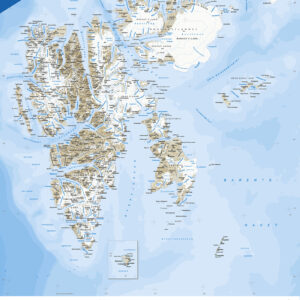 Oversiktskart: Svalbard (S1000)