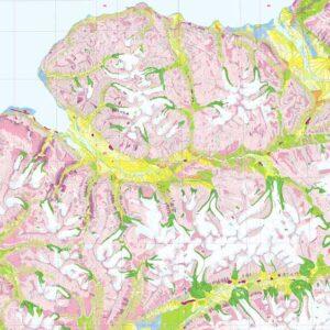 Adventdalen (G 100) – C9G og C9Q (med kartbeskrivelse)