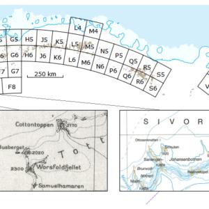 Kartserie: Antarktis (DML 250)