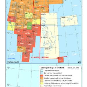 Kartserie: Svalbard (G 100)