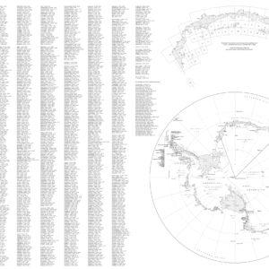 Oversiktskart: Dronning Maud Land