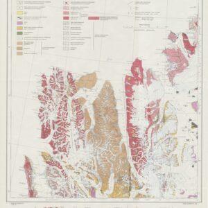 Historisk oversiktskart: Spitsbergen nordre del